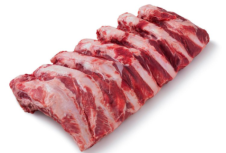 Sterling Silver Beef Back Ribs