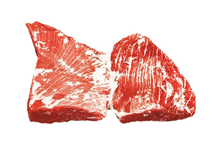 Sterling Silver Top Blade Beef Cut