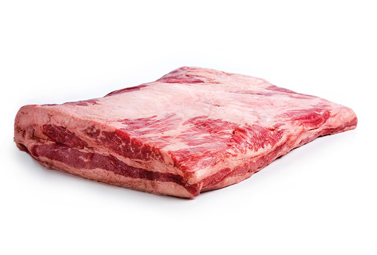 Sterling Silver Navel Beef Cut