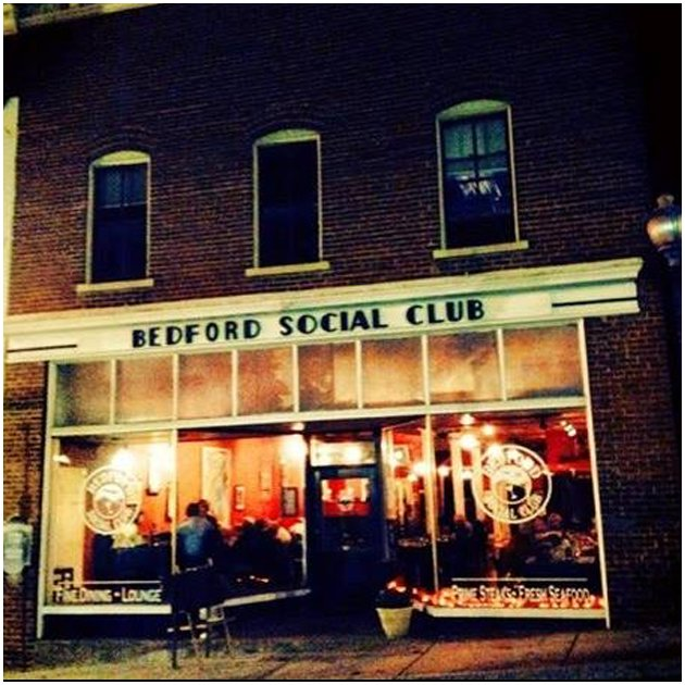 Front of Bedford Social Club