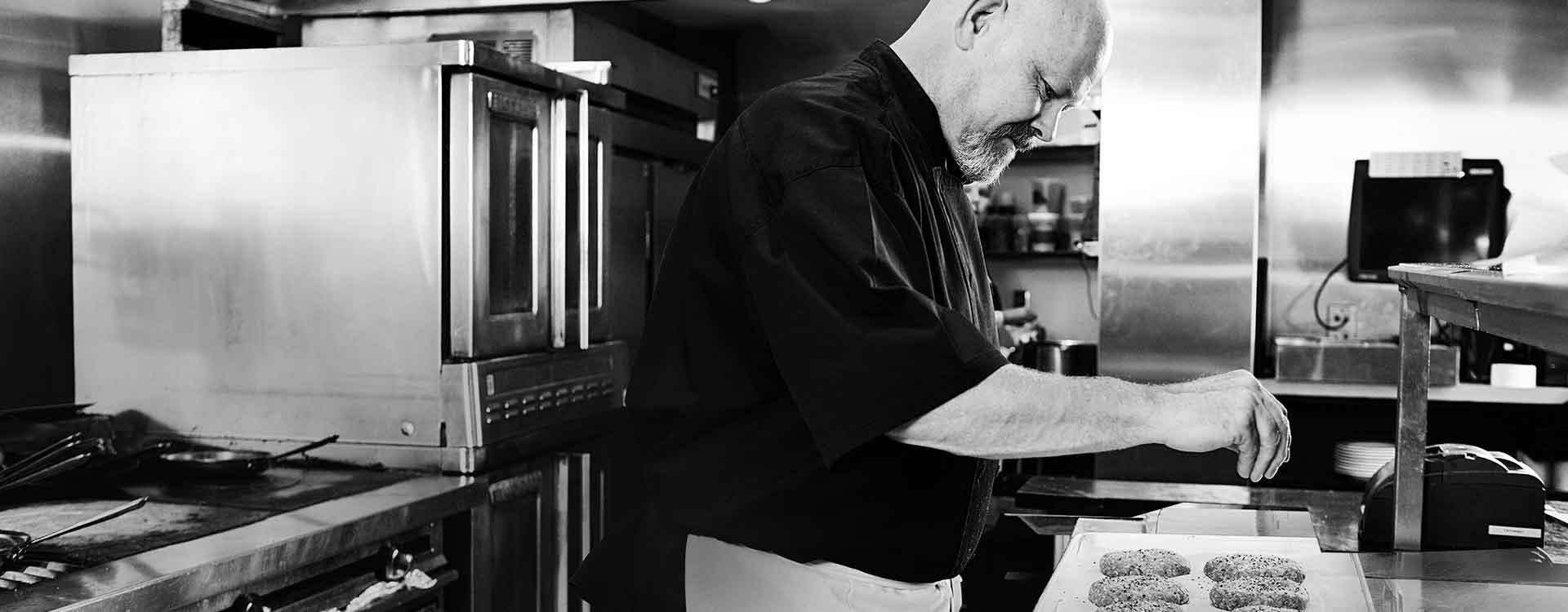 Chef Pete Geoghegan