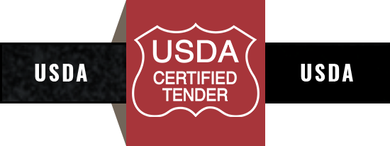 USDA certified tender
