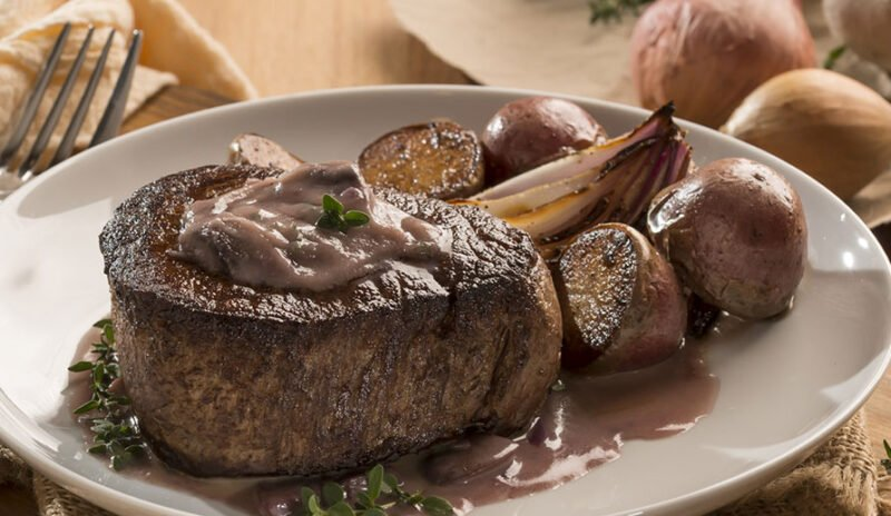 Thyme and Mushroom Filet