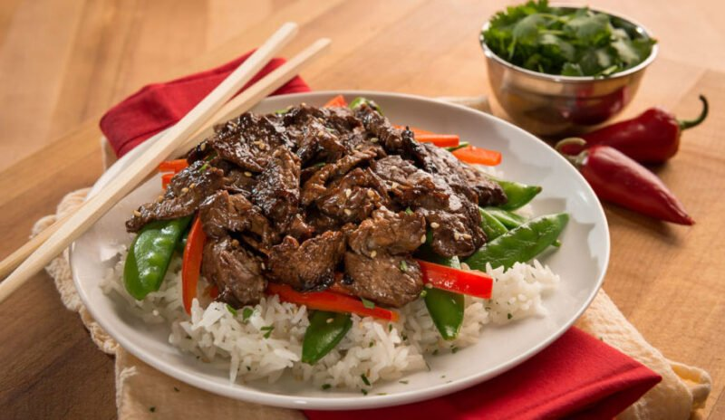 Sesame Pepper Stir Fry