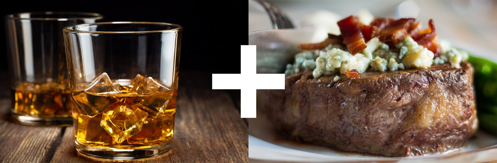 Whiskey and beef
